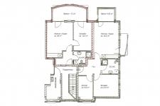 Grundriss 2-R-Wohnung