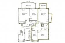 Grundriss 3-R-Wohnung